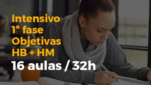Curso Intensivo pré-TPS 2018 • Objetivas • HB + HM